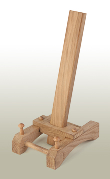 Precision engineered from oak the natural graining and colouration gives each Pot-Easel a unique identity. The sliding bridge allows for 4 size settings and ...  sc 1 th 286 & Pot-Easel Home
